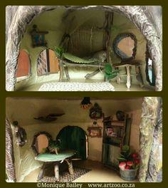Fairy furniture © Monique Piscaer Bailey  www.artzoo.co.za