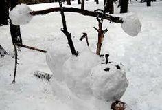 cool snowman ideas - Google Search