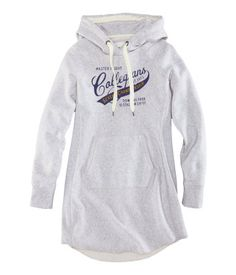Sweatshirt dress $34.95   H US with leggings and boots