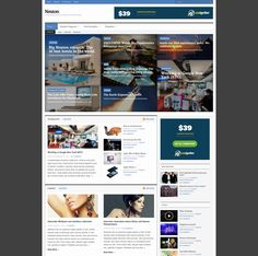 A WordPress News/Magazine theme with powerful features, Neuton focuses on your content and audience.