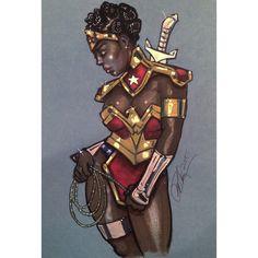 Nubia- Wonder Woman  by Rvalenzuela80.deviantart.com on @DeviantArt