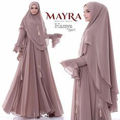 Carousell - Snap to List, Chat to Buy Moslem Fashion, Niqab Fashion, Modest Fashion Hijab, Modern Hijab Fashion, Muslim Women Fashion, Islamic Fashion, Fashion Outfits, Hijab Style Dress, Casual Hijab Outfit