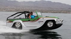 WaterCar Panther- Fastest Amphibious Car