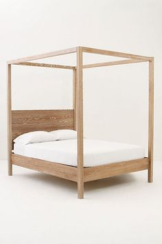 Woodland Slumber Canopy Bed #anthropologie I totally think michael can make this. :)