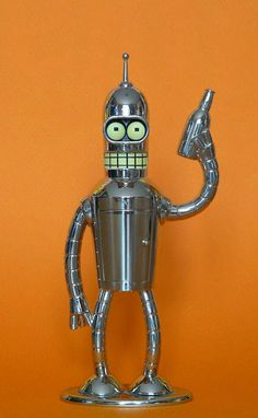 "I love Bender #futurama ""Bite my shiny metal ass!"""