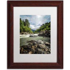 Trademark Fine Art Waterland Canvas Art by Philippe Sainte-Laudy, White Matte, Wood Frame, Size: 11 x 14