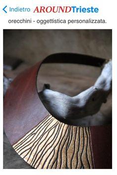 #Shopping #Trieste ...Sculture, maschere della commedia dell'arte, pezzi unici realizzati a mano in pregiato cuoio fiorentino. Incensieri, collane ed orecchini - oggettistica personalizzata........ cell.346 2212517.Viale XX settembre 43