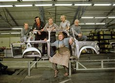 Die Mechaniker in Zwickau waren stolz auf ihre «Rennplaste» (Bild: Imago)