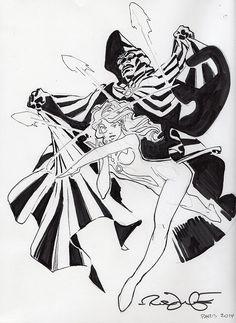 Cloak & Dagger by Rick Leonardi