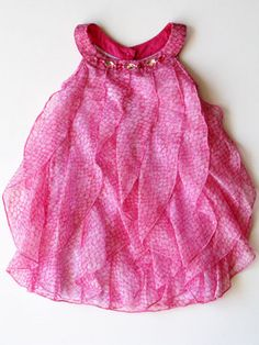 Sweet and Sassy infant and toddler dress by Biscotti for sizes 12M-2T