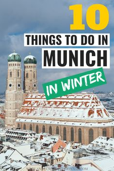 The 10 best things to do in Munich in Winter [Unique tips from a local] The 10 best things to do in Munich in Winter. Find out what to see in Bavaria's capital when it snows and it's cold outside. This Munich travel guide was written by a local! Visit Munich, Visit Germany, Germany Travel, Munich Germany, Brazil Travel, Cool Places To Visit, Places To Travel, Travel Destinations, Europe Travel Guide