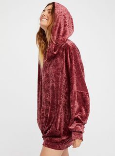 Loose Long Sleeve Pullover Solid Color Hoodie - AZBRO.com 037d544a514