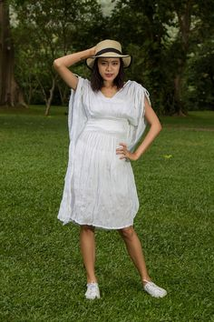 Gypsy Wedding Dress White Bohemian Dress Boho by YOURSClothes