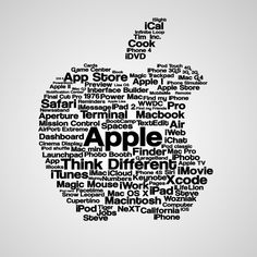 Apple Typography iPad Wallpaper HD #iPad #wallpaper