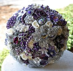 Brooch bouquets by Anna Sinclair ~ Visit my Etsy shop!