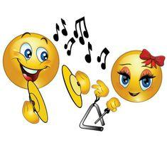 Funny Emoticons, Funny Emoji, Smileys, Stickers Emojis, Music Emoji, Emojis Meanings, Emoji Symbols, Romantic Pictures, Music Pictures