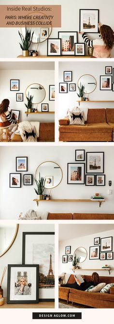 Be inspired by this Portland, OR photographer's trip to Paris and see how it helped spark her creativity and business growth. #photography #paris #framedprints #designaglow #photographer #france #studio www.designaglow.com