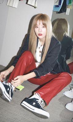 (3) Twitter Kpop Girl Groups, Korean Girl Groups, Kpop Girls, Seulgi Photoshoot, Twice Clothing, Irene, My Girl, Cool Girl, Red Velvet Photoshoot