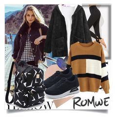 """""""ROMWE III/1"""" by betty-boop23 ❤ liked on Polyvore featuring romwe"""
