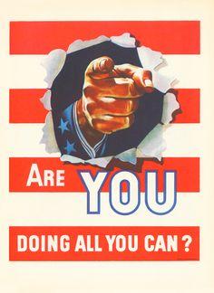 WWII Propaganda poster June 1942