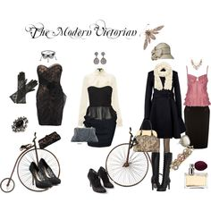The Modern Victorian. Perhaps for my female Sherlock Holmes? Modern Victorian Fashion, Vintage Fashion, Victorian Gothic, Mens Clothing Guide, Gothic Clothing Stores, Cute Fashion, Fashion Outfits, Fashion Trends, Casual Steampunk