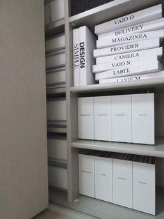 ◆【白い収納ボックスいろいろ】ダイソーの蓋付きボックス2つめのラベル作り - l o v e HOME 収納 & インテリア|yaplog!(ヤプログ!)byGMO