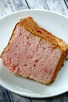 Raspberry jell-o chiffon cake