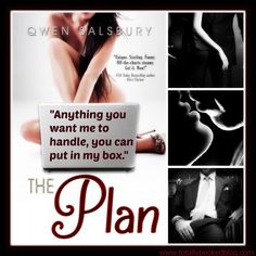 Our REVIEW is up for THE PLAN by Qwen Salsbury. We did enjoy the story and the characters in this fun, swoony standalone, and although it didn't wow us, it did provide us with the type of read we were looking for at the time!   Link to our REVIEW ->http://wp.me/p2WbFf-3T3