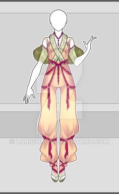 [CLOSED] Outfit Adopt 28/16 by larighne.deviantart.com on @DeviantArt Anime Outfits, Cool Outfits, Casual Outfits, Fashion Outfits, Manga Clothes, Drawing Clothes, Asian Steampunk, Style Feminin, Women Pants