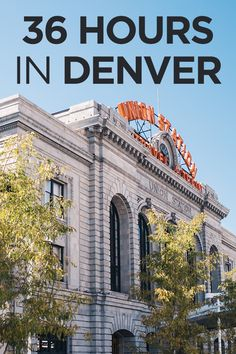 Your Ultimate Guide to 36 Hours in Denver, Colorado - Travel Pockets Visit Denver, Visit Colorado, Denver Colorado, Colorado Trip, Denver Vacation, Denver Travel, Solo Travel, Travel Usa, Travel Tips