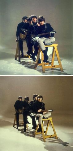 The Beatles 1965 Intertel video shoot for HELP!