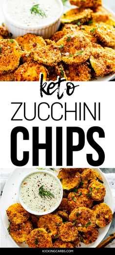 Looking for a healthy snack recipe that you will make again and again. This is it! These air fryer or baked Keto Zucchini Chips are not only easy to make, but they are delicious! Feel good about serving this snack to your family. PINNING! #wendypolisi #zucchinichips #zucchinirecipe #zucchinirecipes #lowcarb #lowcarbrecipes #airfryer #airfryerrecipes Low Carb Appetizers, Appetizers For Party, Appetizer Recipes, Dinner Recipes, Appetizer Ideas, Healthy Recipes For Weight Loss, Low Carb Recipes, Real Food Recipes, Healthy Snacks