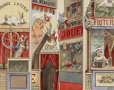 Paper theaters were widely popular in the 19th century. The selected few in  this post are by  Jean Charles Pellerin. Crazy detail using a very tedious  and time consuming lithographic process. Appreciate the detail below!