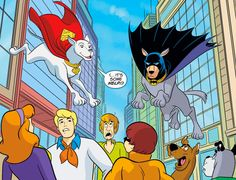 Scooby-Doo Stars in a Crisis on Infinite Mutts With Krypto and Ace the Bathound