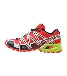 las zapatillas de trail running speedcross gracias a la suela contragrip aportan gran estabilidad y