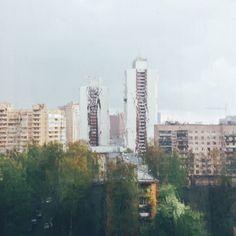 photo by Karavanov Lev #rain #rainyday #city #street #cloudy