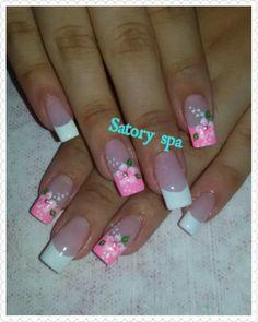 Colorful Nail Designs, Nail Art Designs, Peach Nails, Gorgeous Nails, Mani Pedi, Ponytail Bump, Hair And Nails, Nail Colors, Gold