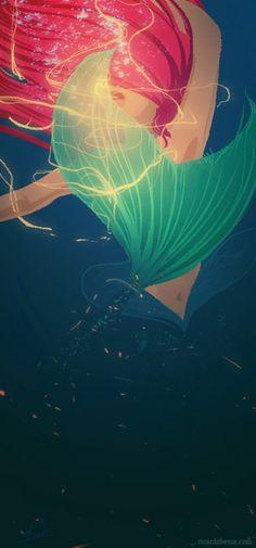 #disney #art #ariel #thelittlemermaid
