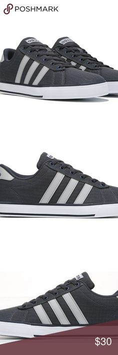 Adidas Neo sneaker The SE Daily Vulc sneaker. Canvas upper with the traditional three stripes. Cushioned footbed. adidas Shoes Sneakers