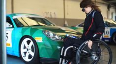 Meet The Woman Who Won't Let A Spinal Cord Injury Stop Her From Hooning Porsches