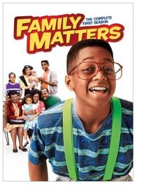 Who could forget this wholesome African-American family withe the lovable Steve Urkuel?! Family Matters TV show.