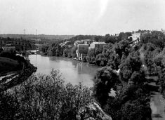 Welland Ship Canal - Old Canal in St. Catharines (c.1910) (image/jpeg)