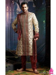 Sherwanis are one of the best clothing for grooms. Do you want Sherwani for your wedding? Check out Infraville.con collection for mens sherwani.