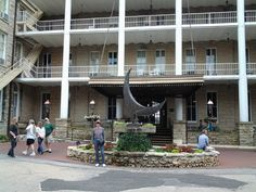 The Cresent Hotel. One of the most haunted hotels on register in the U.S. Booo
