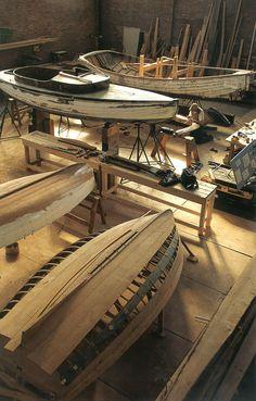 Mastery of Craft...    The International Yacht Restoration School shop in Newport, Rhode Island. By Onne va der Wal.