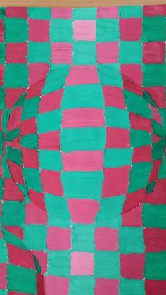 Aleksin rad. Koristio sam komplementne boje zelenu i crvenu da bih naglasio 3d efekat koristio sam valere tj postepeno povecavanje svetlosti.