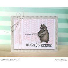 mama elephant clear stamps, bear hugs   mama elephant bear hugs stamps mama elephant bear hugs stamps ...