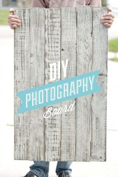 How to make a DIY Photography Board in three simple steps! This tutorial is so easy to follow and produces a gorgeous two-sided photography board!