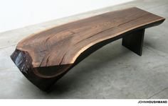 Sycamore Low Coffee Table Sustainable Wood Furniture
