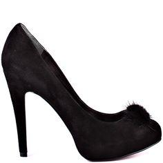 Paris Hilton   Adanna - Black Suede